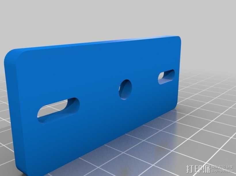 挤出机适配器 3D模型  图13