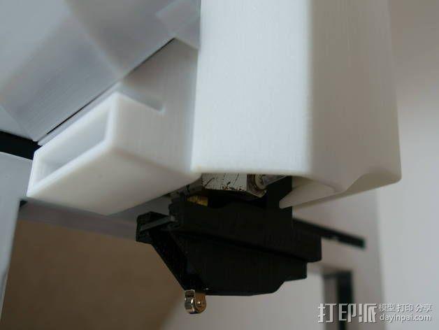 挤出机不仅马达散热器 3D模型  图15