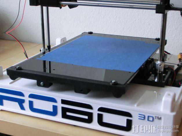 Y轴丝杆固定器 3D模型  图2