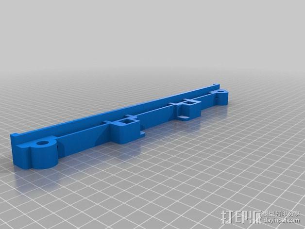 Y轴丝杆固定器 3D模型  图9