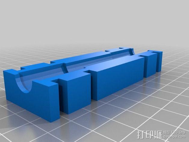 Y轴丝杆固定器 3D模型  图10