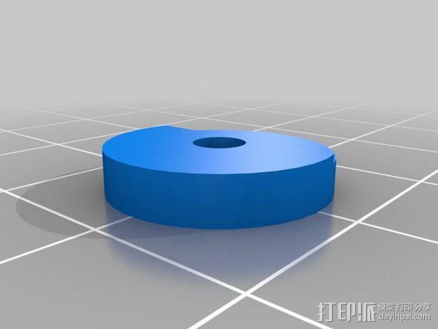Y轴丝杆固定器 3D模型  图13