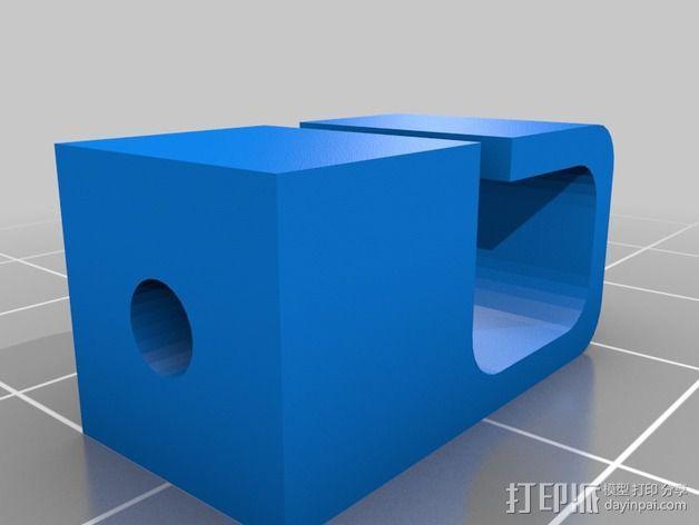 Y轴丝杆固定器 3D模型  图12