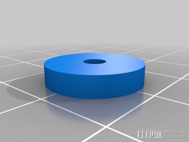 Y轴丝杆固定器 3D模型  图14