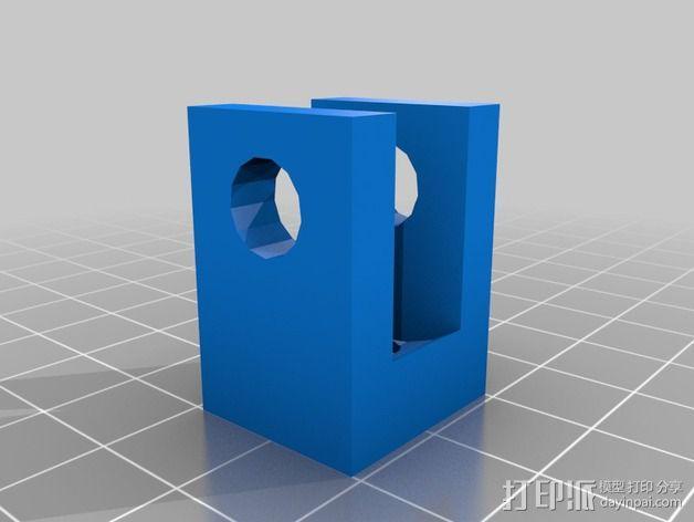 玻璃板支撑器 3D模型  图2