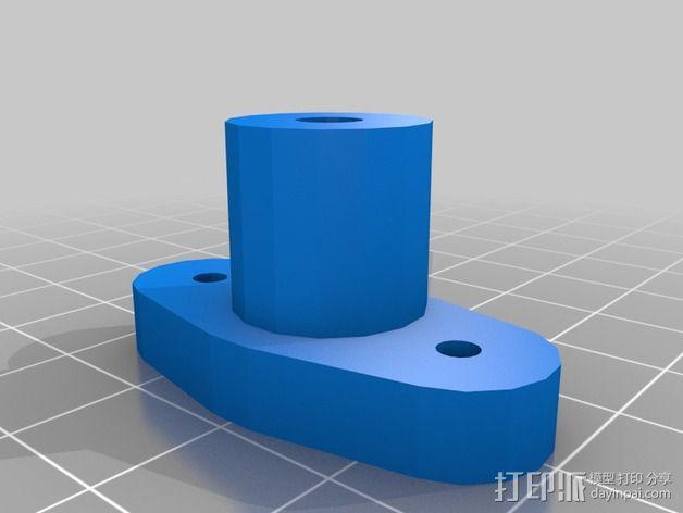 玻璃板支撑器 3D模型  图3