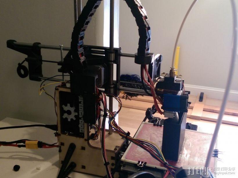 挤出机支架 3D模型  图5