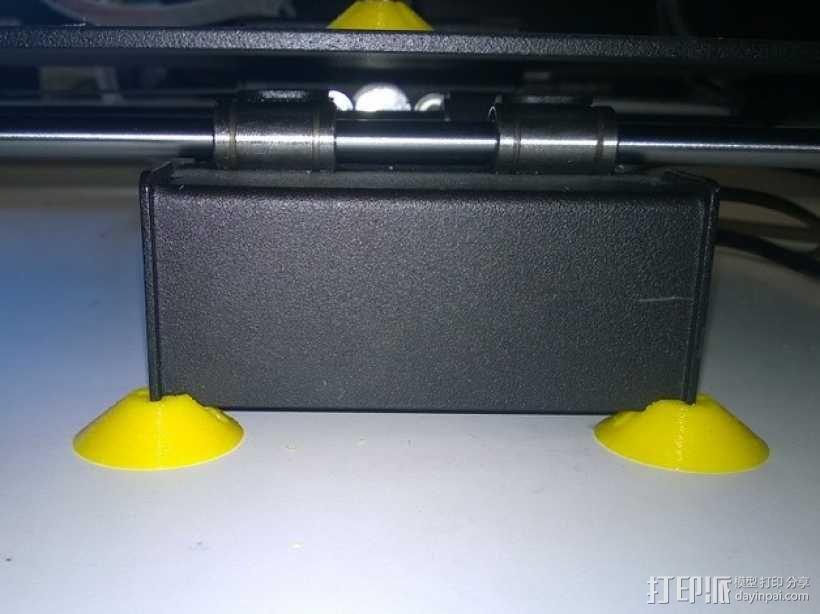 打印机角托 支撑脚 3D模型  图2