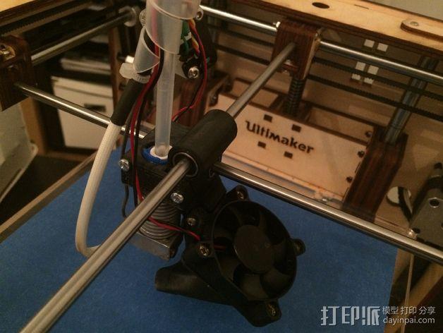 鲍登挤出机支架 3D模型  图9