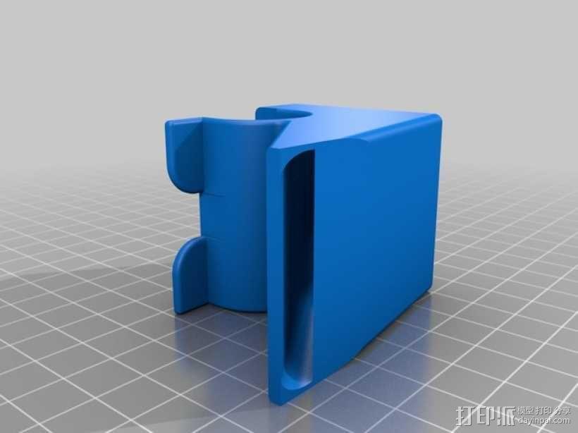 前置风扇导管 3D模型  图2