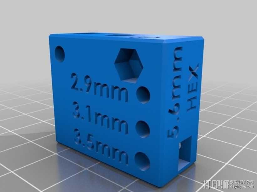 螺丝钉孔测试 3D模型  图5