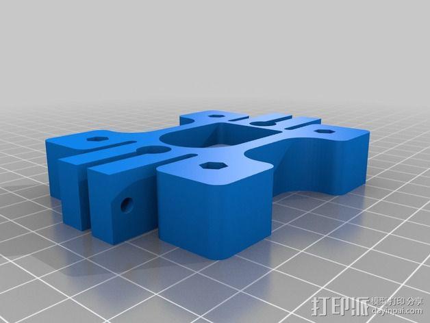 双挤出机/三喷头挤出机 3D模型  图13