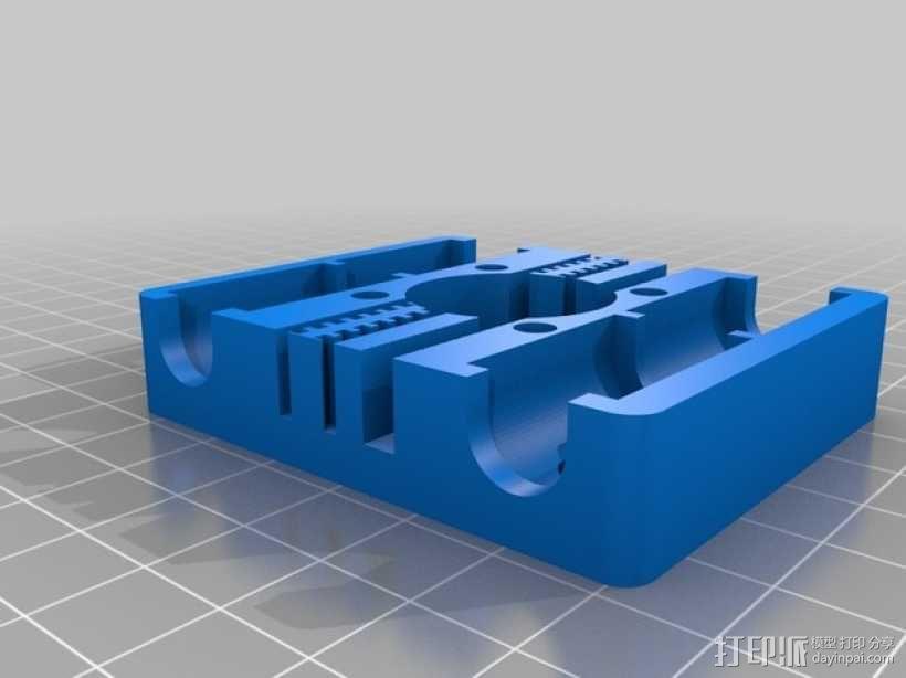 Prusa I3打印机 X carriage 3D模型  图4
