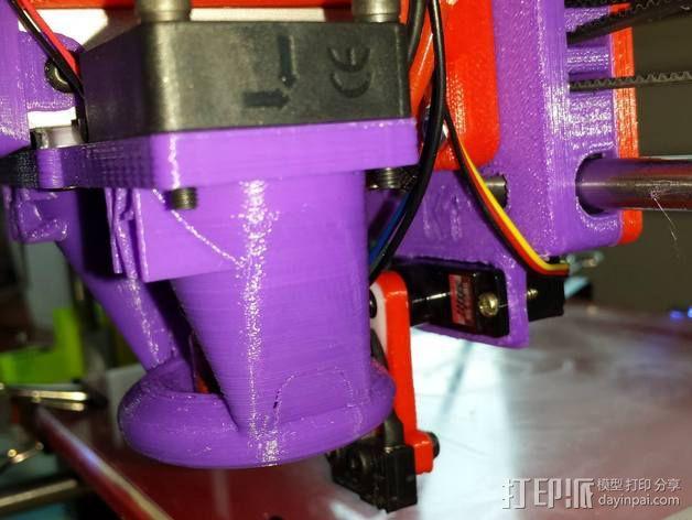 Prusa I3打印机 X carriage 3D模型  图3