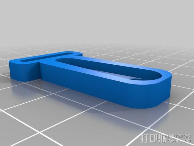 Prusa I3打印机 X carriage 3D模型  图6