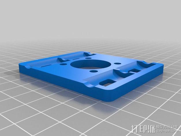 Prusa I3打印机 X carriage 3D模型  图5