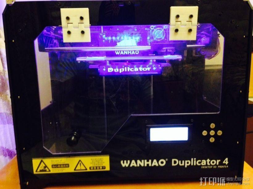 打印机前门铰链 3D模型  图3
