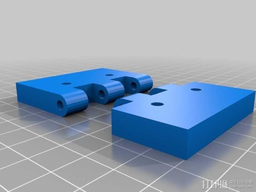 打印机前门铰链 3D模型  图2