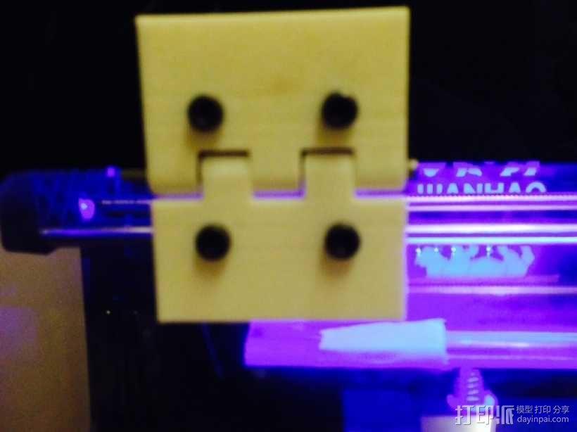 打印机前门铰链 3D模型  图1