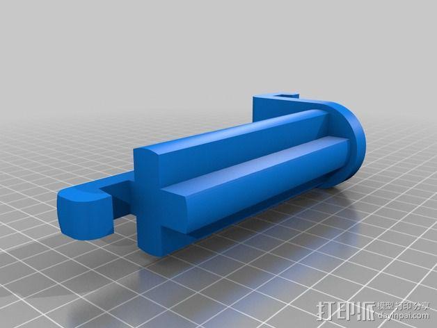 带导线环的线轴架 3D模型  图4