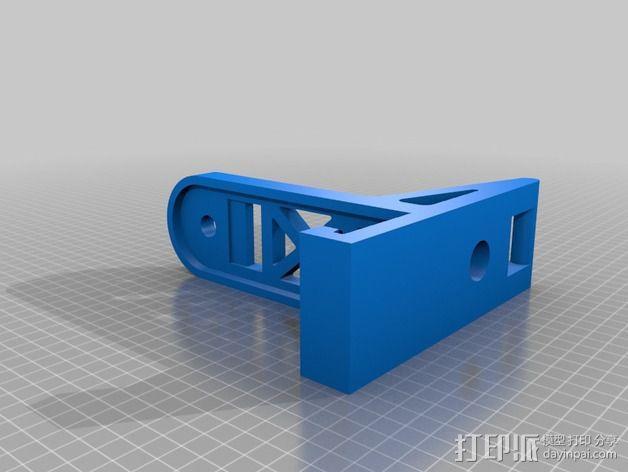 带导线环的线轴架 3D模型  图5
