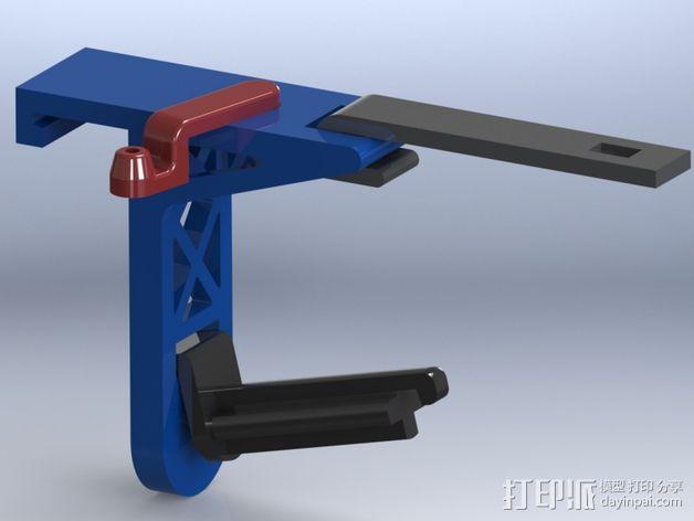 带导线环的线轴架 3D模型  图7