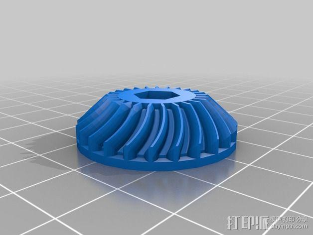 Nema 17步进电机电机盒 3D模型  图2