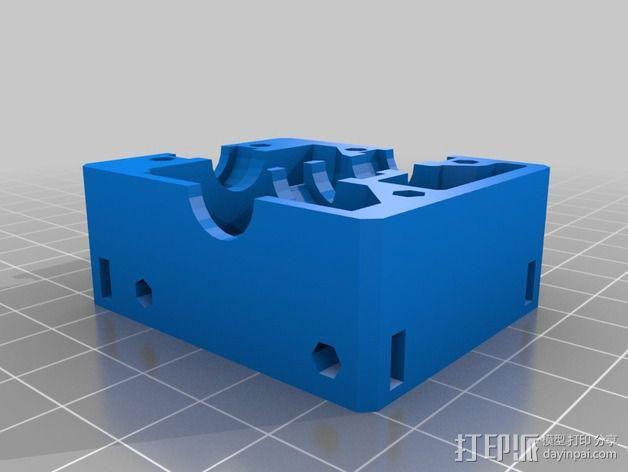 Nema 17步进电机电机盒 3D模型  图3