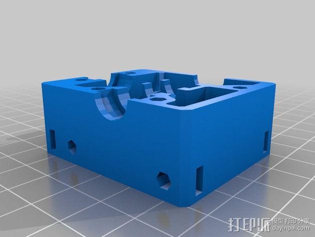 Nema 17步进电机电机盒 3D模型  图5