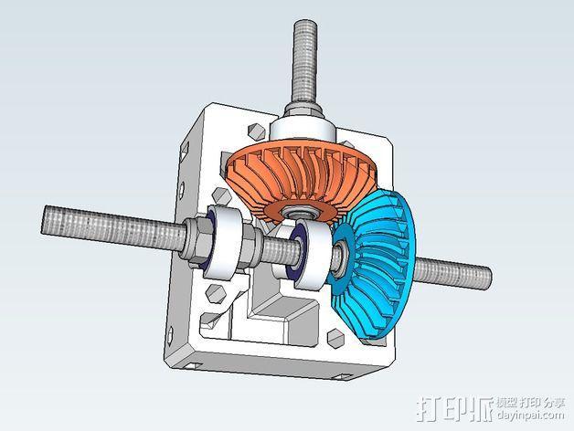 Nema 17步进电机电机盒 3D模型  图6