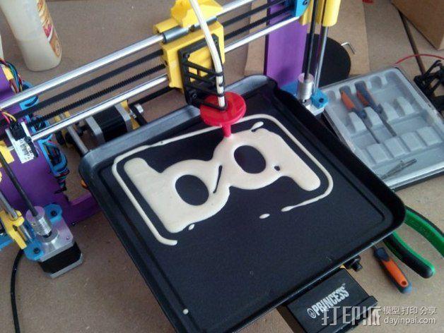 Tortiprinter 3D打印机 3D模型  图2