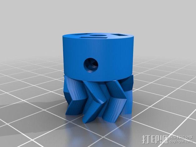Tortiprinter 3D打印机 3D模型  图5