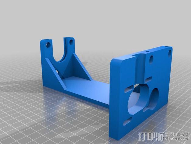 Tortiprinter 3D打印机 3D模型  图4