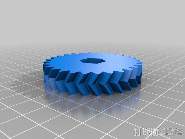Tortiprinter 3D打印机 3D模型  图6