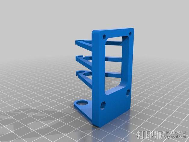 Tortiprinter 3D打印机 3D模型  图9