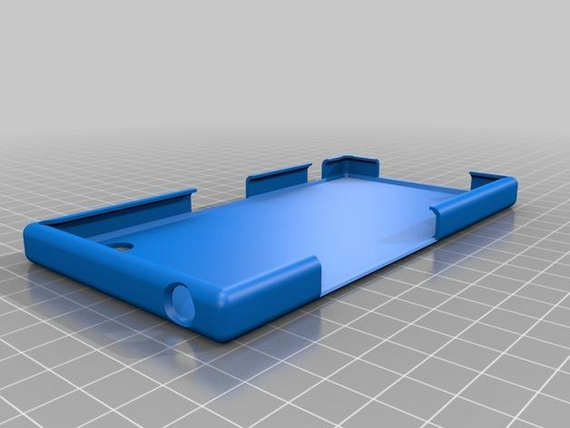 Sony Xperia Z保护壳 3D模型  图2