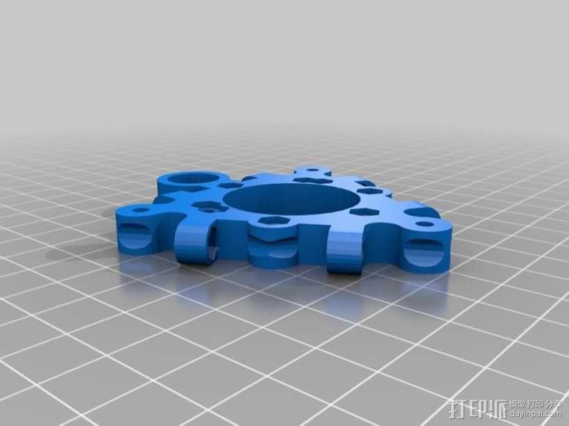 打印机喷嘴支架 3D模型  图6