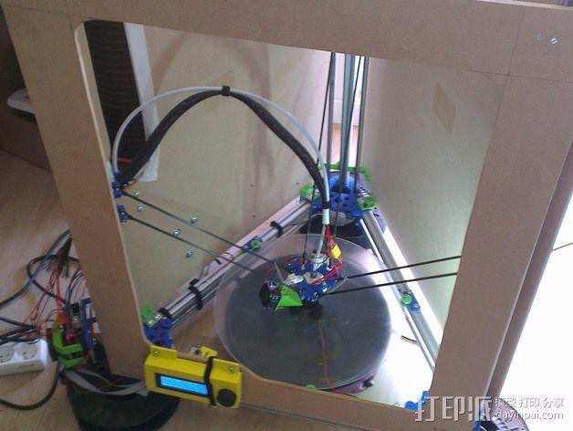 挤出机套件 3D模型  图1