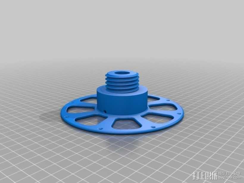 线材轴 线轴 3D模型  图5