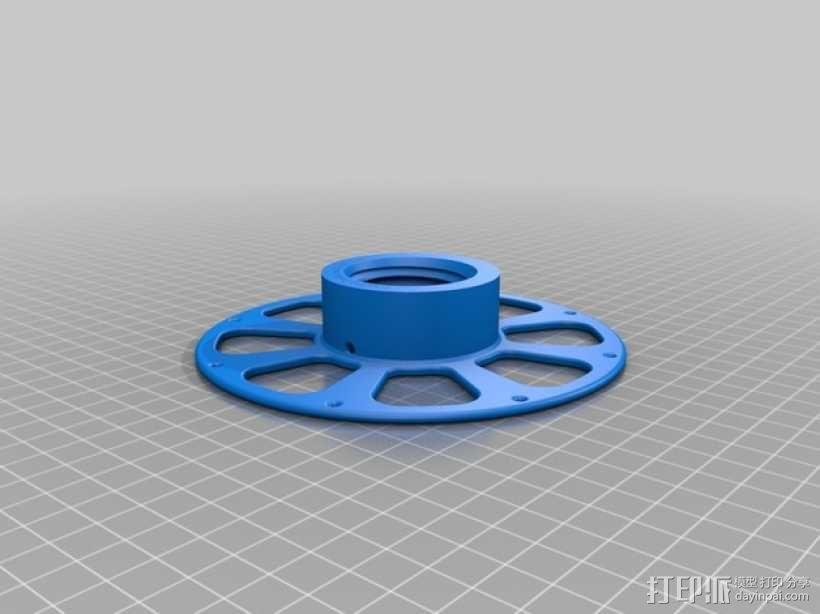 线材轴 线轴 3D模型  图6