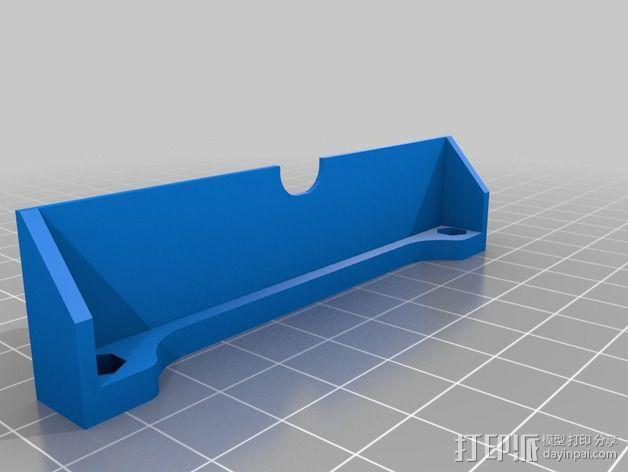 风扇导管支架 3D模型  图2