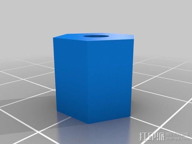 风扇导管支架 3D模型  图3