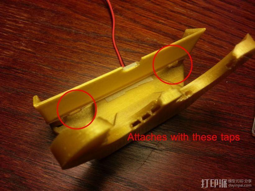 风扇导管支架 3D模型  图1