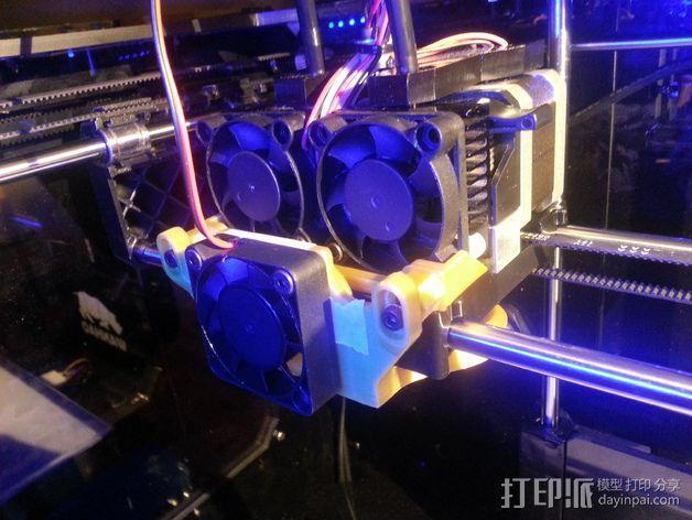风扇导管支架 3D模型  图7
