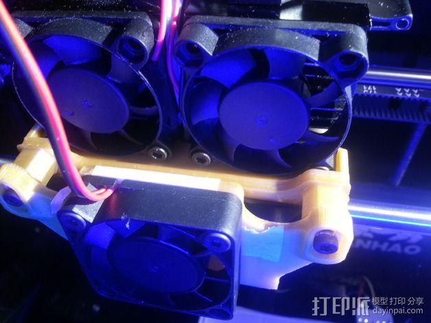 风扇导管支架 3D模型  图8