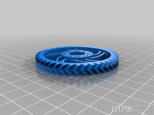 挤出机 3D模型  图11