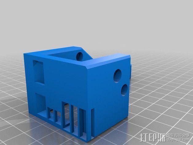 导线器 线材导轨 3D模型  图4