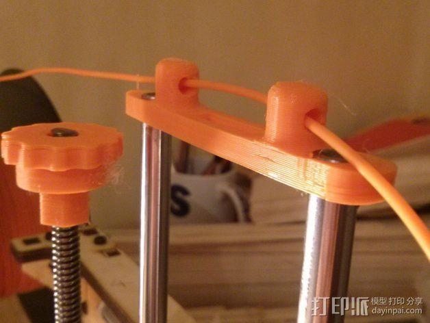 Printrbot Simple打印机Z轴导线器 3D模型  图1