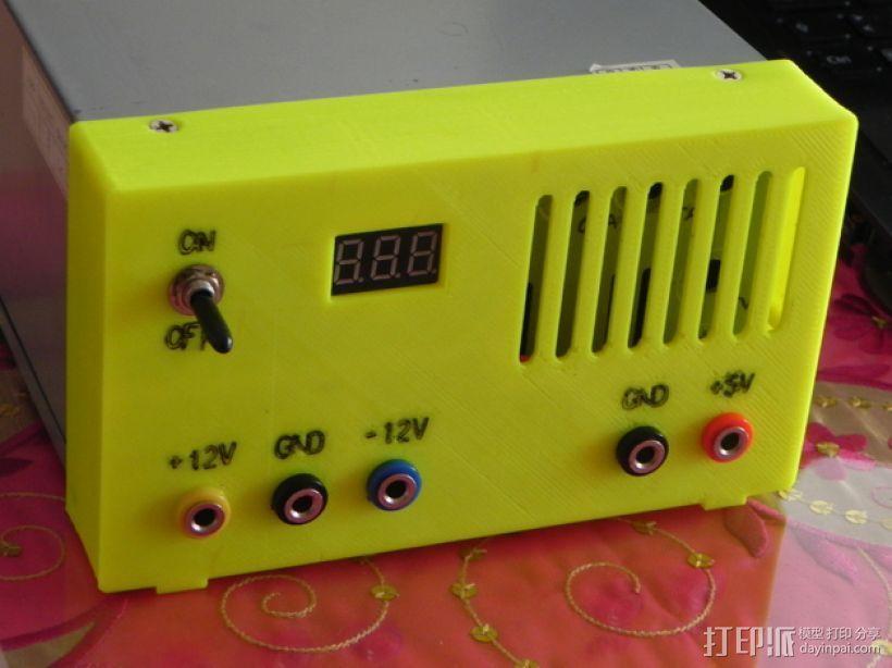 电源保护盒 3D模型  图1