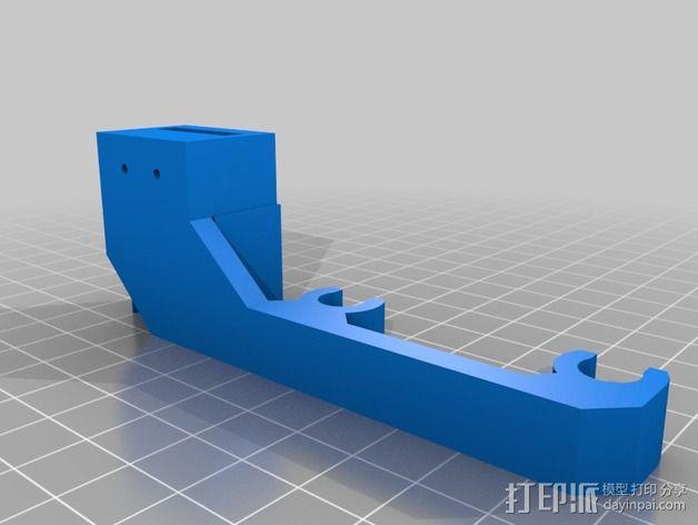 限位开关 3D模型  图4